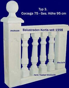 Balustraden Baluster Balustrade Gartenzaun Gelander Gartenmauer