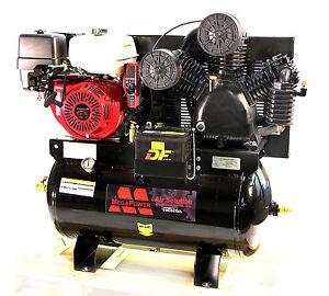 Mega air compressor 13hp honda gx390 gas drive for South motors honda service