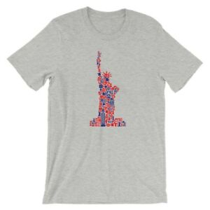 e9bf88bf788be2 Liberty T-Shirt. Statue of Liberty 100% Cotton Premium Tee NEW