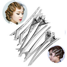 Elegant 12PC Set Clip Handle Salon Invisible Hair Clip Duck Wedding Hair Clips