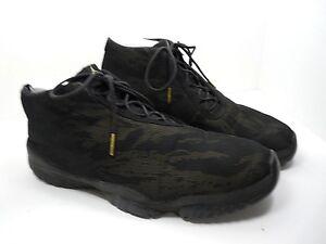 huge discount d4dd2 bf907 Image is loading Nike-Air-Jordan-Future-Black-Metallic-Gold-Tiger-