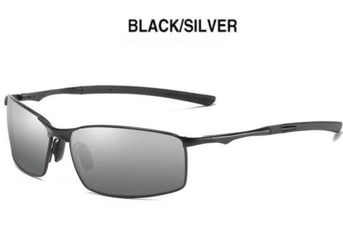 Aoron Polarized Sunglasses Mens Sport Running Fishing Golfing Driving Glasses