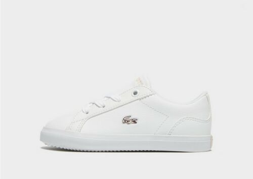 infant baby kids lacoste lerond 318 1 jd cai leather trainers boys girls