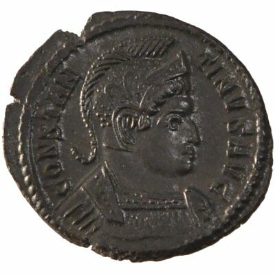 2.80 To Ensure Smooth Transmission Constantine I #60967 Copper Cohen #20 Humble Nummus Au 50-53 Trier