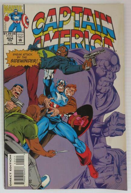 1994 CAPTAIN AMERICA #424 - VG         (INV39287)