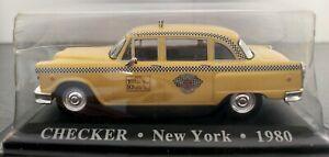 1-43-CHECKER-TAXI-NEW-YORK-1980-BLISTER-ABIERTO-IXO-ALTAYA-ESCALA