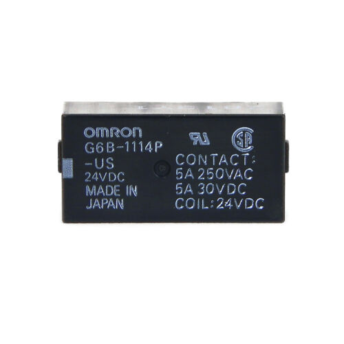 Omron G6B-1114P-US 24VDC Power Relay Coil 24VDC