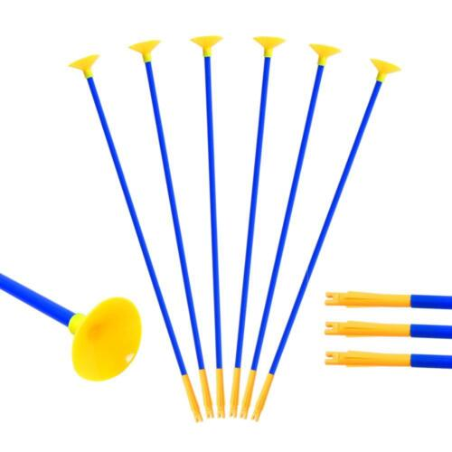 60cm PVC Sucker Arrows Archery Target Arrow Practice Arrow For Children Toy Bow