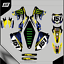 Grafiche-personalizzate-KAWASAKI-KLX-110-Motard-enduro-RiMotoShop-Ultra-grip miniatura 3