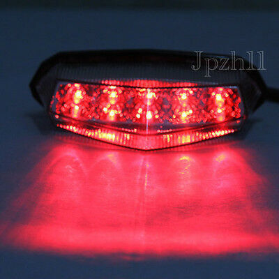 10 LED Motorcycle ATV Dirt Bike Brake Stop Running Tail Light Universal 12V New