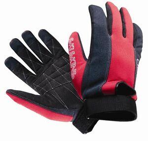 OBrien-SKI-SKIN-Waterski-Watersports-Gloves-Black-Red-35365
