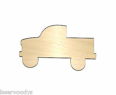 Truck Unfinished Wood Shape Cut Out T252 Laser Crafts Lindahl Woodcrafts