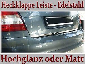 AUDI-A4-B8-KOMBI-2008-2011-Heckklappe-Leiste-Edelstahl-Hochglanz-oder-Matt
