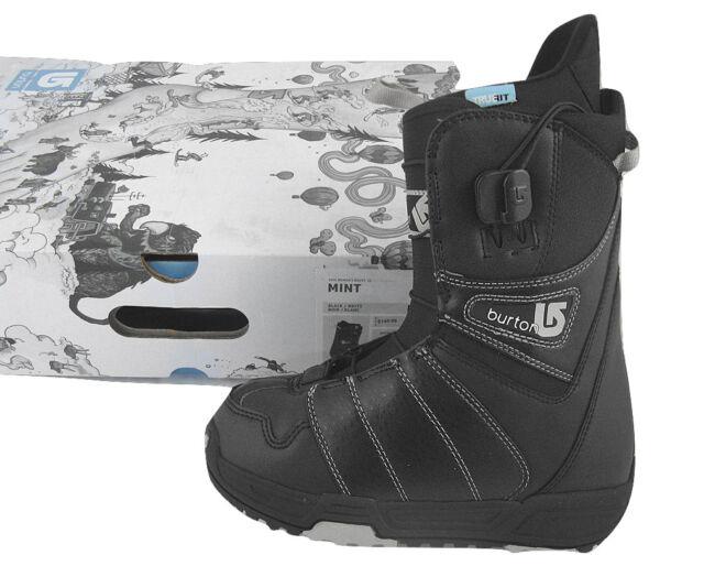 4ff626a2e1 Burton MINT Snowboard BOOTS US 5 UK 3 Euro 35 MONDO 22 BLK for sale ...