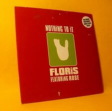 Cardsleeve Single CD Floris Featuring Rose Nothing To It 2TR 2002 Jazzdance
