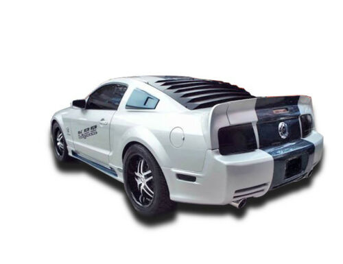 KBD Body Kits Eleanor Style Urethane Rear Wing Spoiler Fits Ford Mustang 05-09