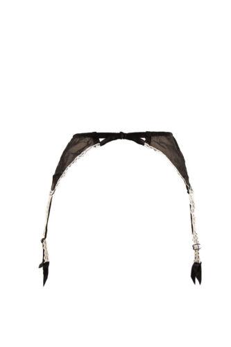 Floral Suspender Provocateur £110 Bcf89 Black Rrp Agent Women's Lovely Elastic fqIpU6w