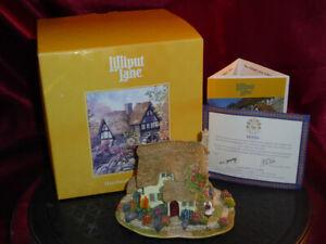 LILLIPUT-LANE-Devon-Leigh-British-Collection-L2091-Model-Cottage-Boxed-deeds