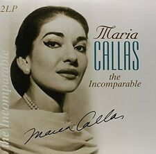 Maria Callas Incomparable 180g Gatefold Best of 19 Songs Vinyl Passion 2 LP