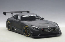 AUTOART MERCEDES BENZ AMG GT3 PLAIN BODY VERSION MATT BLACK 1:18 *New Item!