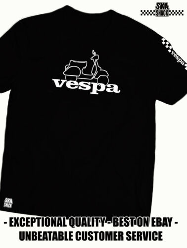 Scooter clothing Vespa T Shirt 5XL EXCLUSIVE to Ska Shack Small