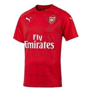 online store 42d50 7ad3b Details about Puma Arsenal 15/16 Pre-Match Jersey 749062-01 Regular price
