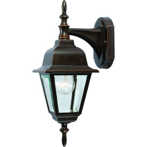 *15yr Wty* #544312 Rust Finish Outdoor Light NEW