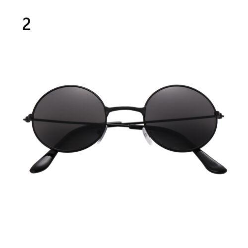 Streetwear Trend Reflective Round Sun Glasses Eyewear Children Sunglasses Retro