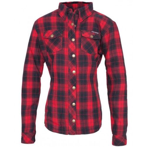 shirt Queen Damen Rot Kerosin Holzfäller Biker Speedjul wzIr7qzv