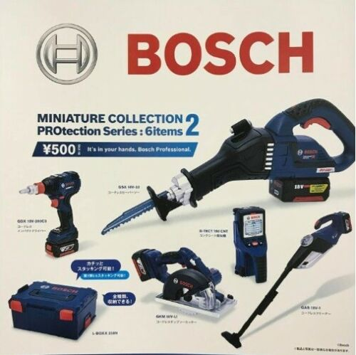 1//6 Bosch Miniature Collection 2 Capsule Protection Series 6 Tools /& Box