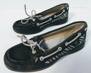 Boat Shoes Size 6.5 Zebra Print