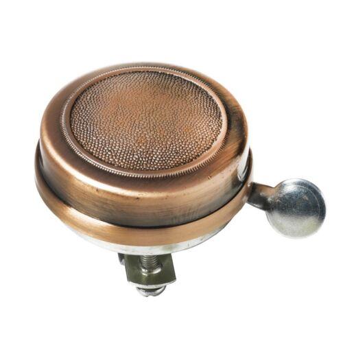 campanello in ferro diametro 55mm finitura ottone BTA bici