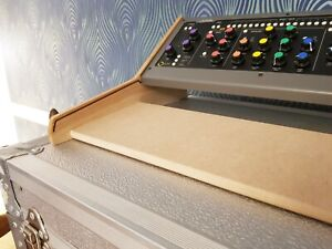 Solid Oak Softube Console 1 & Fader Dual Stand From Synths And Wood