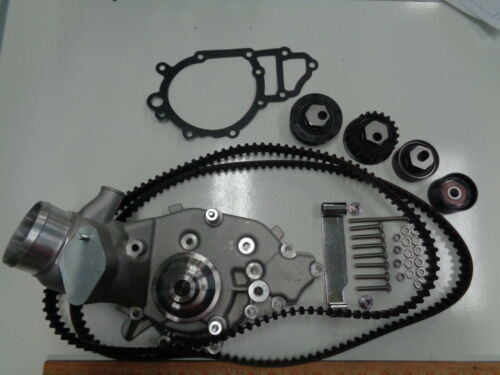 PORSCHE  944 924S WATER PUMP KIT WITH BRAND NEW BELTS AND ROLLERS 944 106 021 22