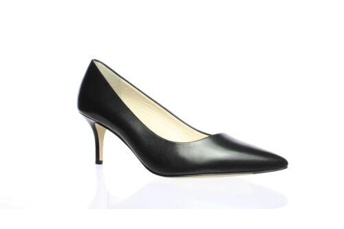 Cole Haan Womens Vesta Black Leather Pumps Size 6