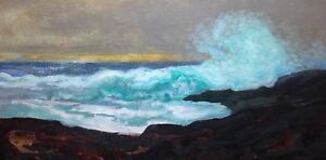 Marine-Seascape-Ocean-Impressionist-Realism-Waves-Maritime-Art-Oil-Painting-Surf
