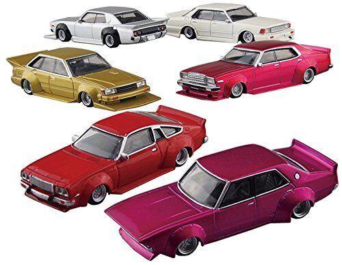 AOSHIMA 1 64 Japanese Classic Car Gurachan collection BEST 2 (12 pieces BOX) New