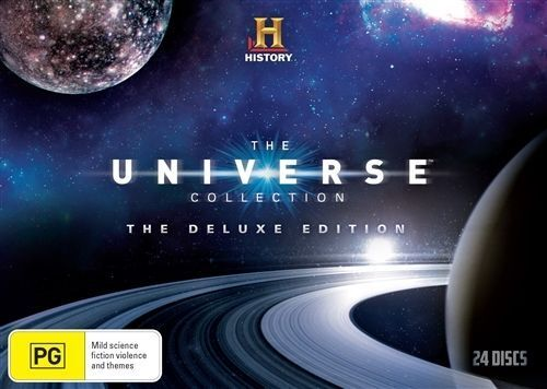 1 of 1 - The Universe (DVD, 2015, 24-Disc Set)