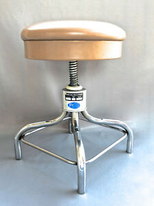 Outstanding Details About Vintage Adjustable Pedigo Stool Dentist Doctor Office Gamerscity Chair Design For Home Gamerscityorg