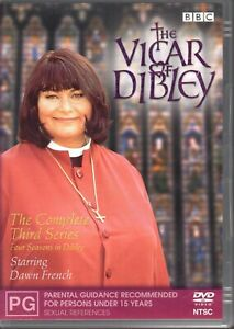 THE-VICAR-OF-DIBLEY-The-Complete-Third-Series-DVD-R4-2005-LIKE-NEW-FREE-POST