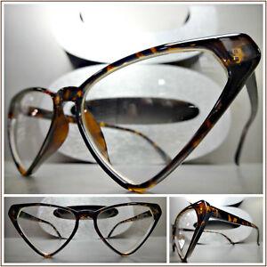 cc14794b34d New Women s CLASSIC VINTAGE Funky RETRO CAT EYE Style EYE GLASSES ...