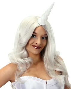 Adult-Fairy-Tale-Fantasy-Magical-Unicorn-Horn-White-Cosplay-Costume-Accessory