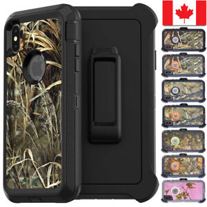 iPhone-X-XS-Max-XR-Defender-Series-Case-Camo-Realtree-Cover-Fit-Otterbox-Clip