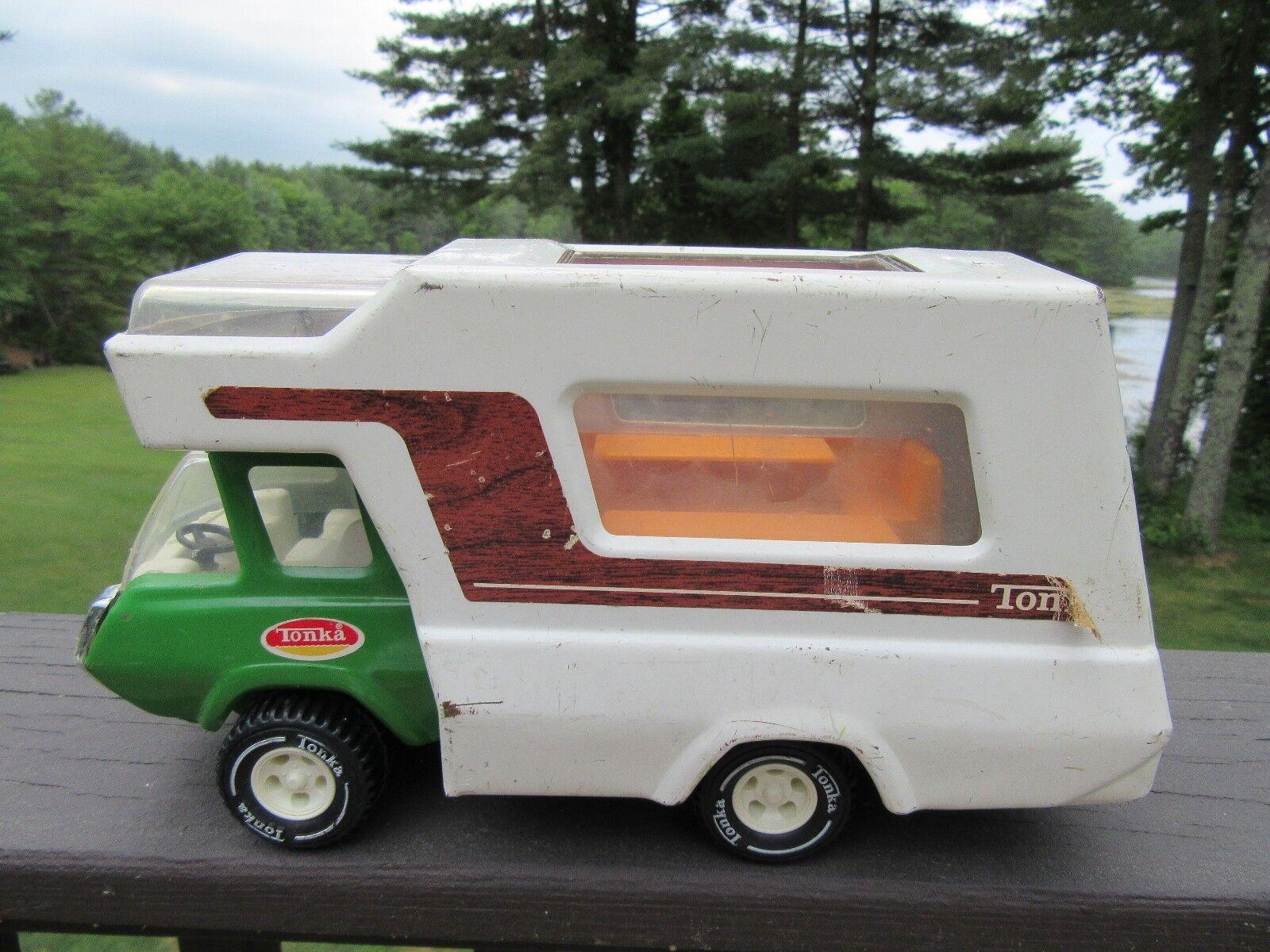 Entrega directa y rápida de fábrica Tonka Camioneta Camper 9C     Camión Vintage Metal Camiones De Juguete   al precio mas bajo