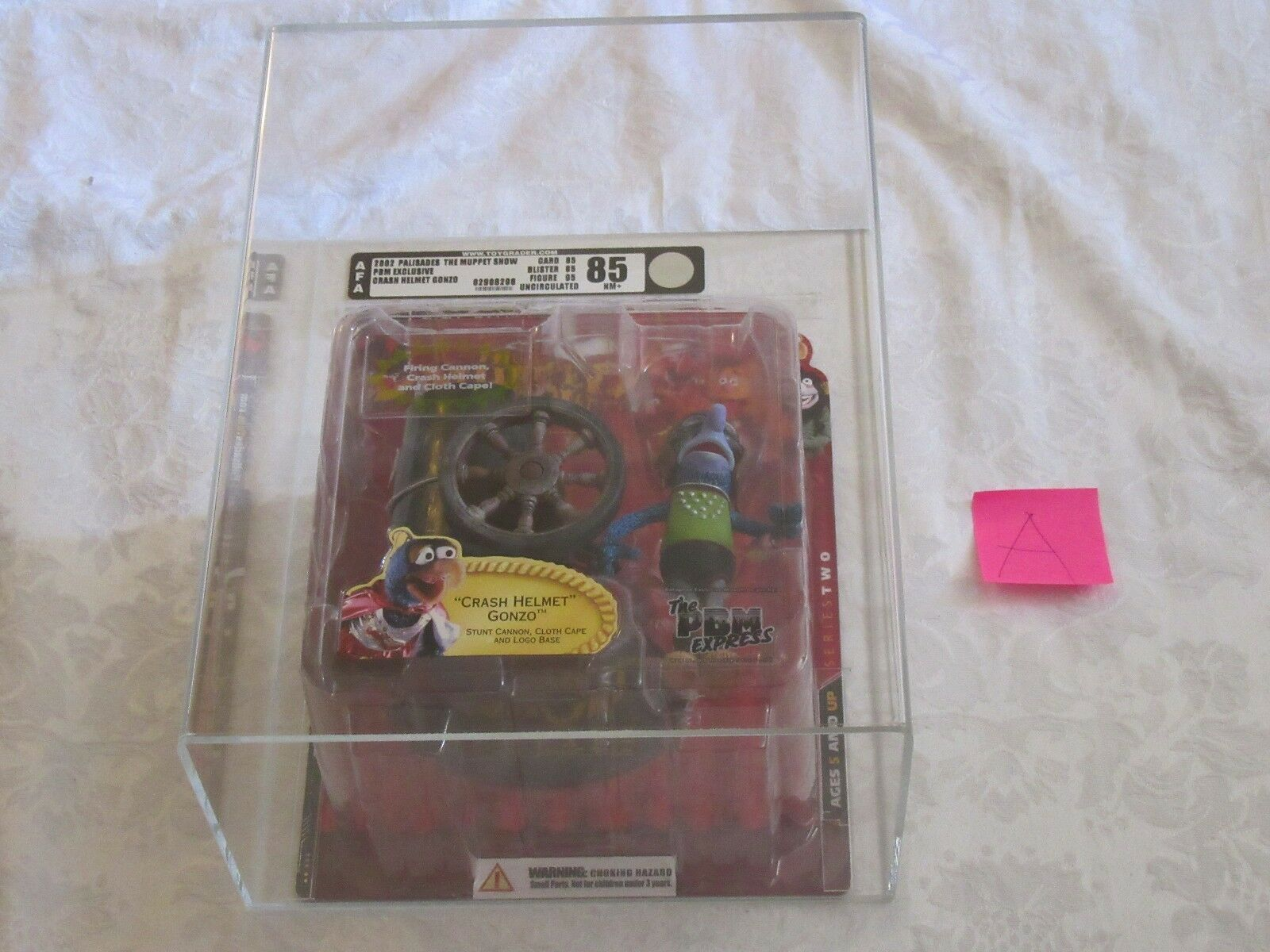 calidad garantizada Palisades Muppet Show AFA 85 2002 Pbm Express exclusivo Crash Crash Crash Casco Gonzo un  suministramos lo mejor