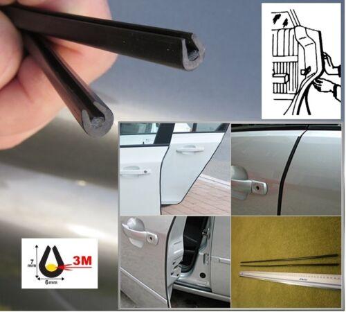 NERO türkanten protezione salvaporta protezione bordi con colla 3m 2 pezzi FIAT BRAVA