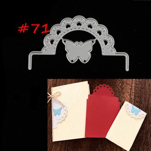 75 Styles Metal Cutting Die For DIY Scrapbooking Album Paper Cards Embossing KK