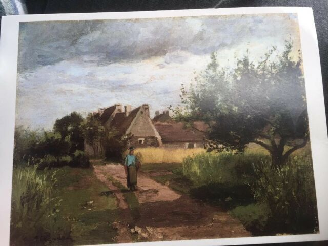 Postkarte von Israel The Israel Museum Jerusalem Camille Pissarro