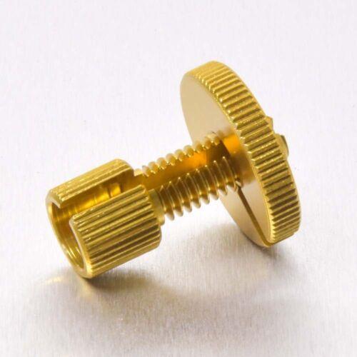 Pro-Bolt Aluminium Cable Adjuster M8 Gold Yamaha YZF-R125 08+