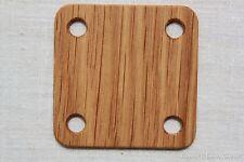 Webbrettchen aus Holz - Eiche. 5x5cm. 24 Stück. LARP mittelalter reenactment